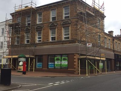 TO LET - Highly prominent town centre retail unit