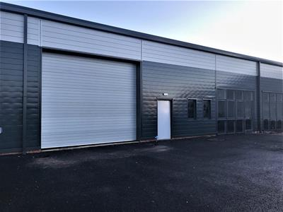 Newly refurbished industrial warehouse unit