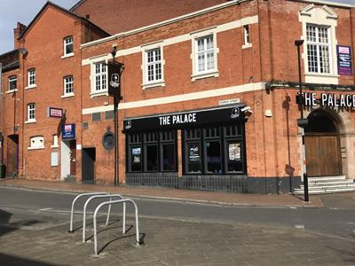 TO LET: Town centre offices
