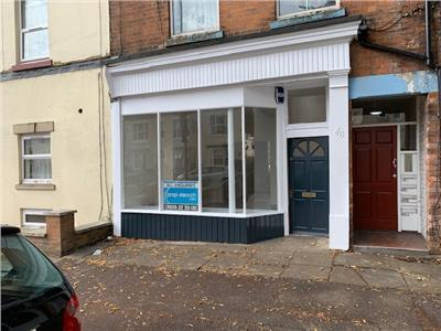 TO LET: Edge of town centre retail premises