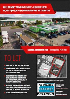 TO LET - For further information, download particulars